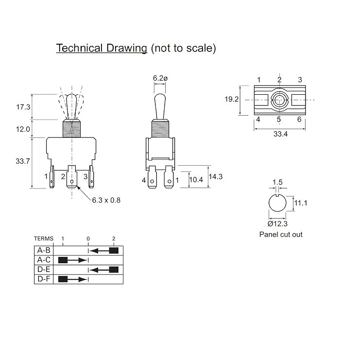 0 496 02 durite 10a double pole spring return toggle switch Double Pole Toggle Switch Diagram Double Pole Toggle Switch Diagram #86 double pole toggle switch wiring